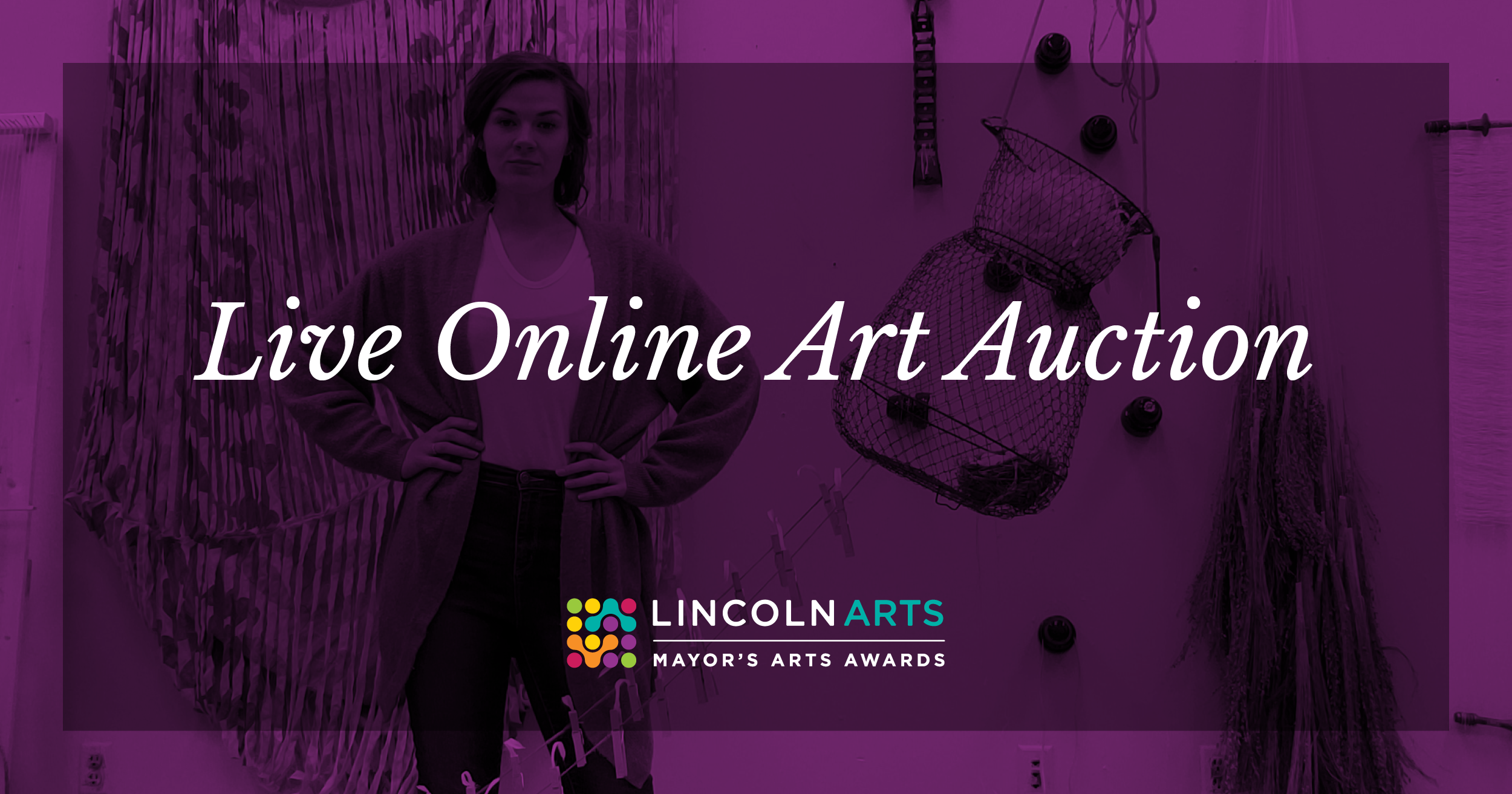 Mayor's Arts Awards Live Online Art Auction