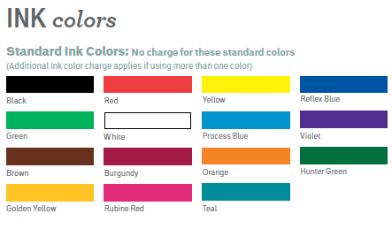 Label Colors