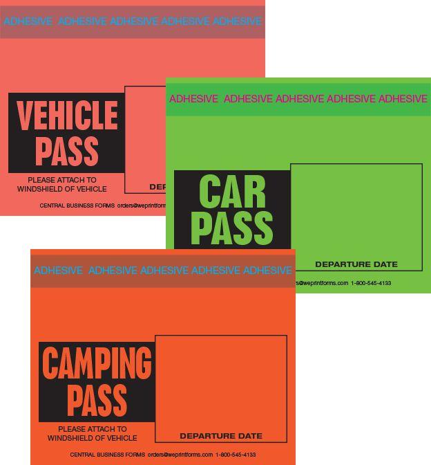 Taped Passes