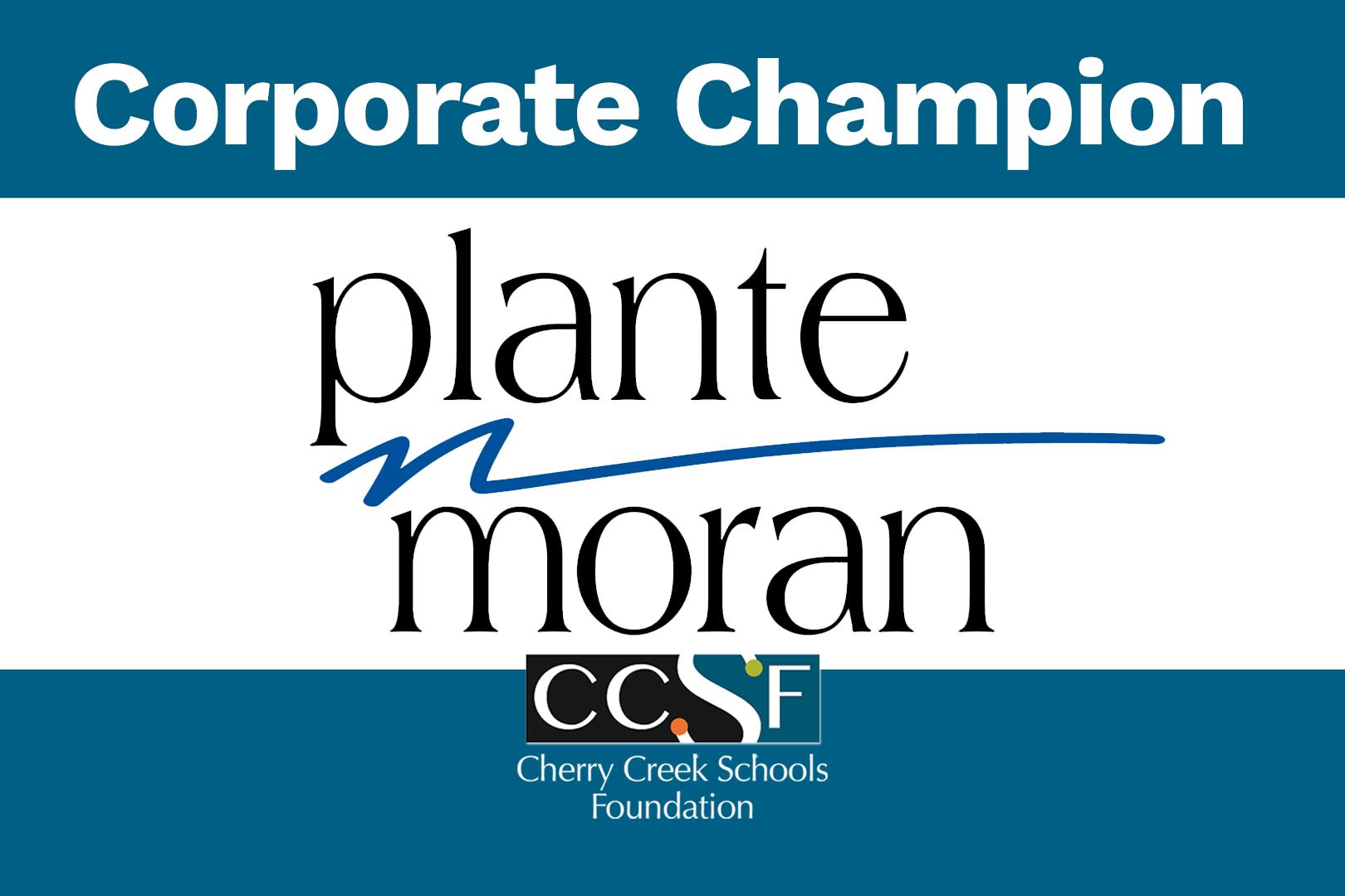 Corporate Champions: Plante Moran