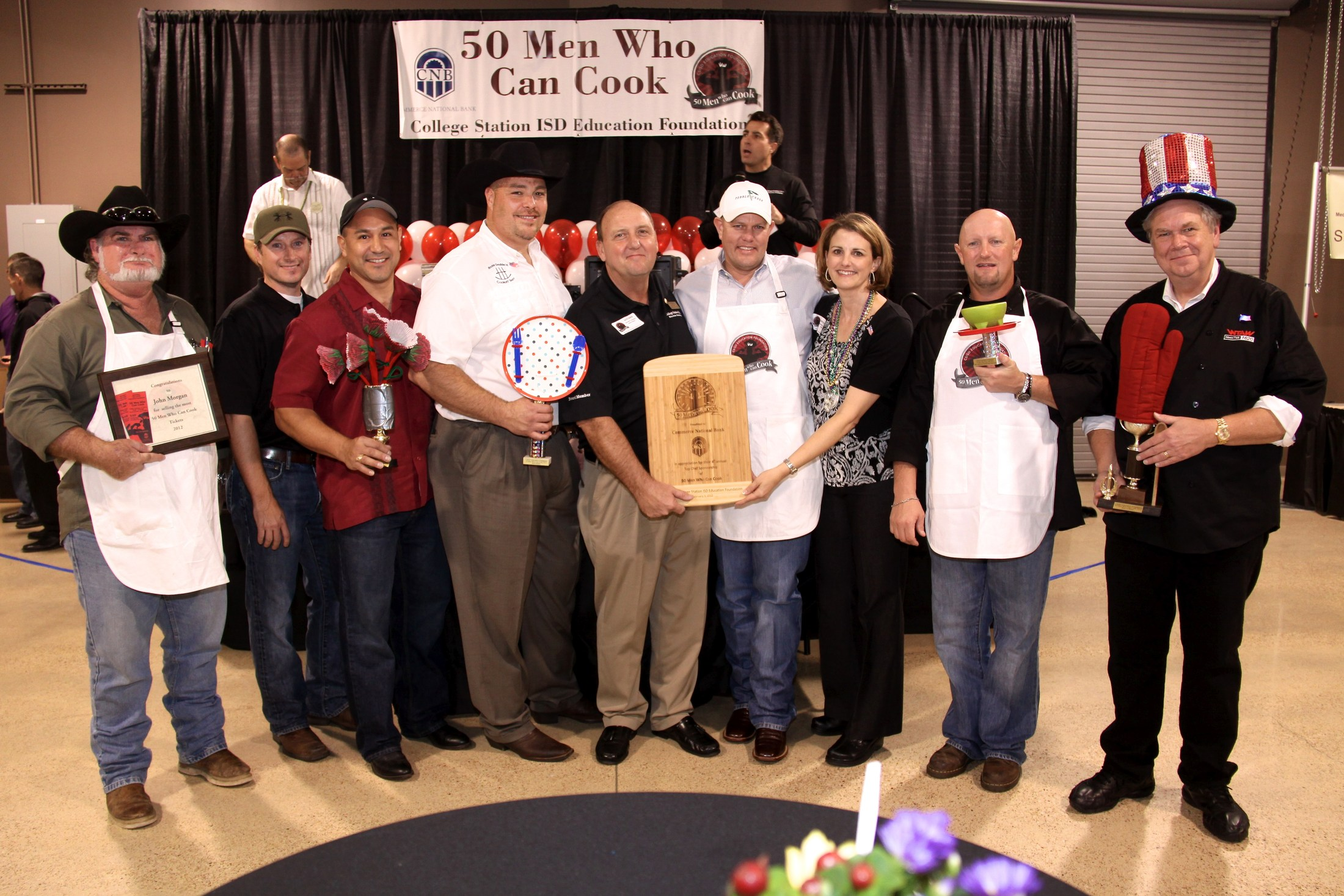 2012 50 Men Who Can Cook Winners