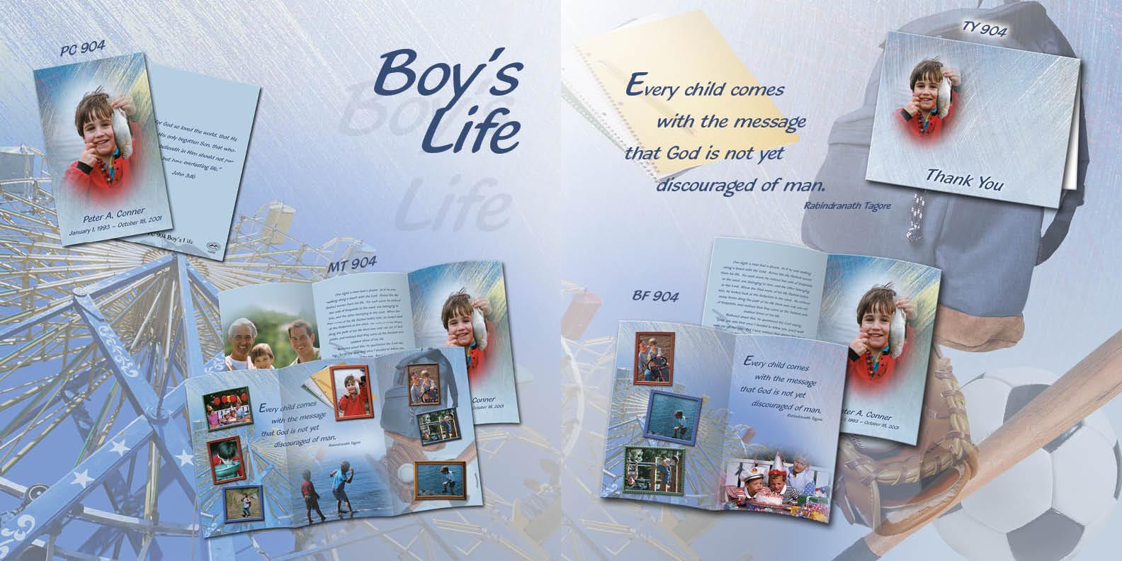 904 Boy's Life