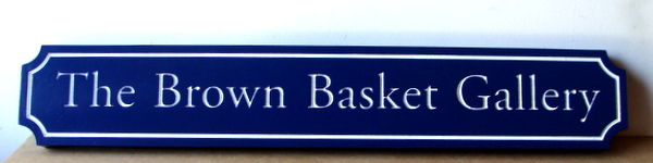 "SA28483 -Distinctive Sign for the ""Brown Basket""  Art Gallery."
