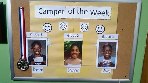 Campers of the Week, good job