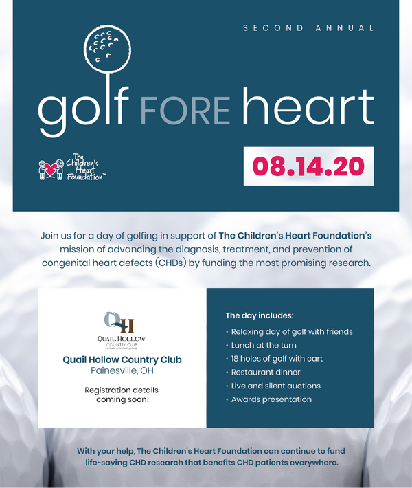 Golf Fore Heart
