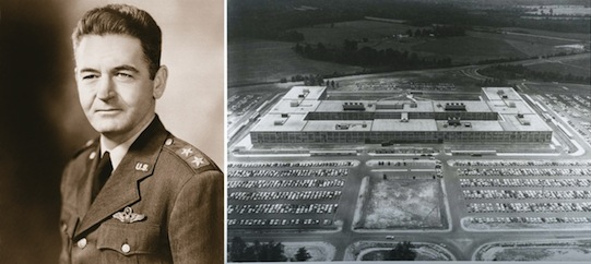 1957: Lt Gen Samford Officially Opened the NSA OPS1 Building