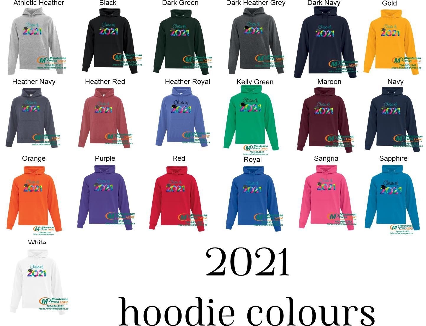 Grad 2021 - Super comfortable hoodies