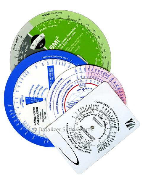 Circular Slide Rule Calculators