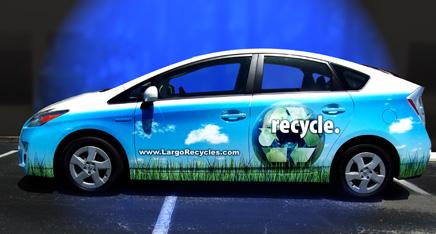 Vehicle Graphics - Prius Wrap