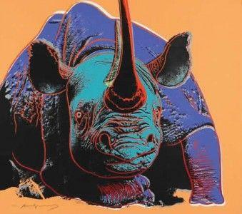 Black Rhinoceros, Endangered Species Portfolio