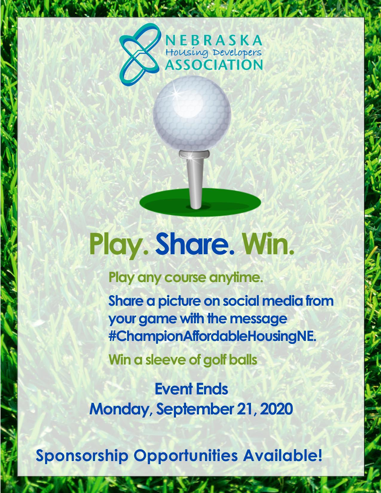 NHDA Virtual Golf Fundraiser