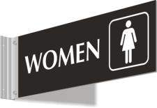 Corridor - Women w/Symbol