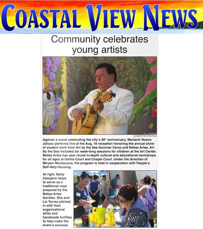 Community celebrates young artists - Coastal View News