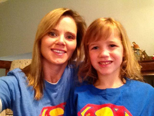 More Superhero friends! Jaymee and Ava Mueller