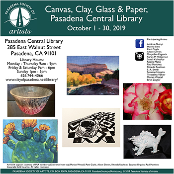 Canvas, Clay, Glass & Paper
