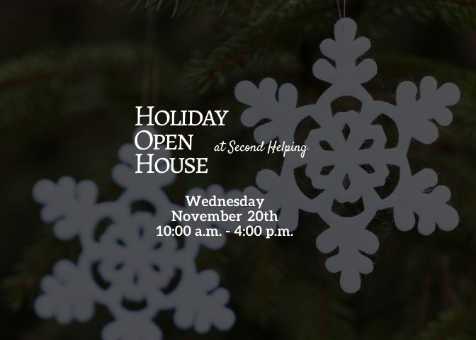 Holiday Open House at Second Helping