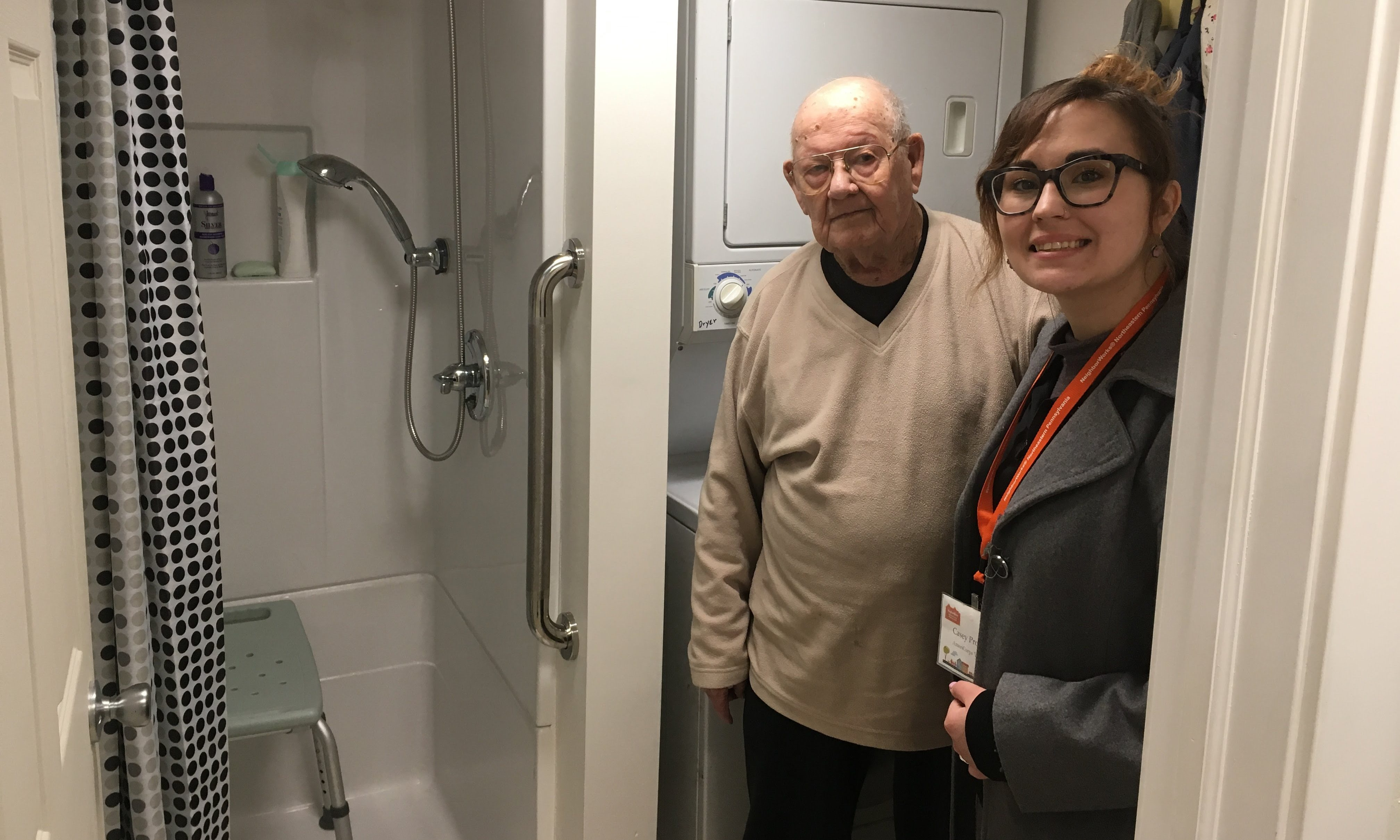 World War II Veteran and His Wife Receive the Bathroom They Deserve