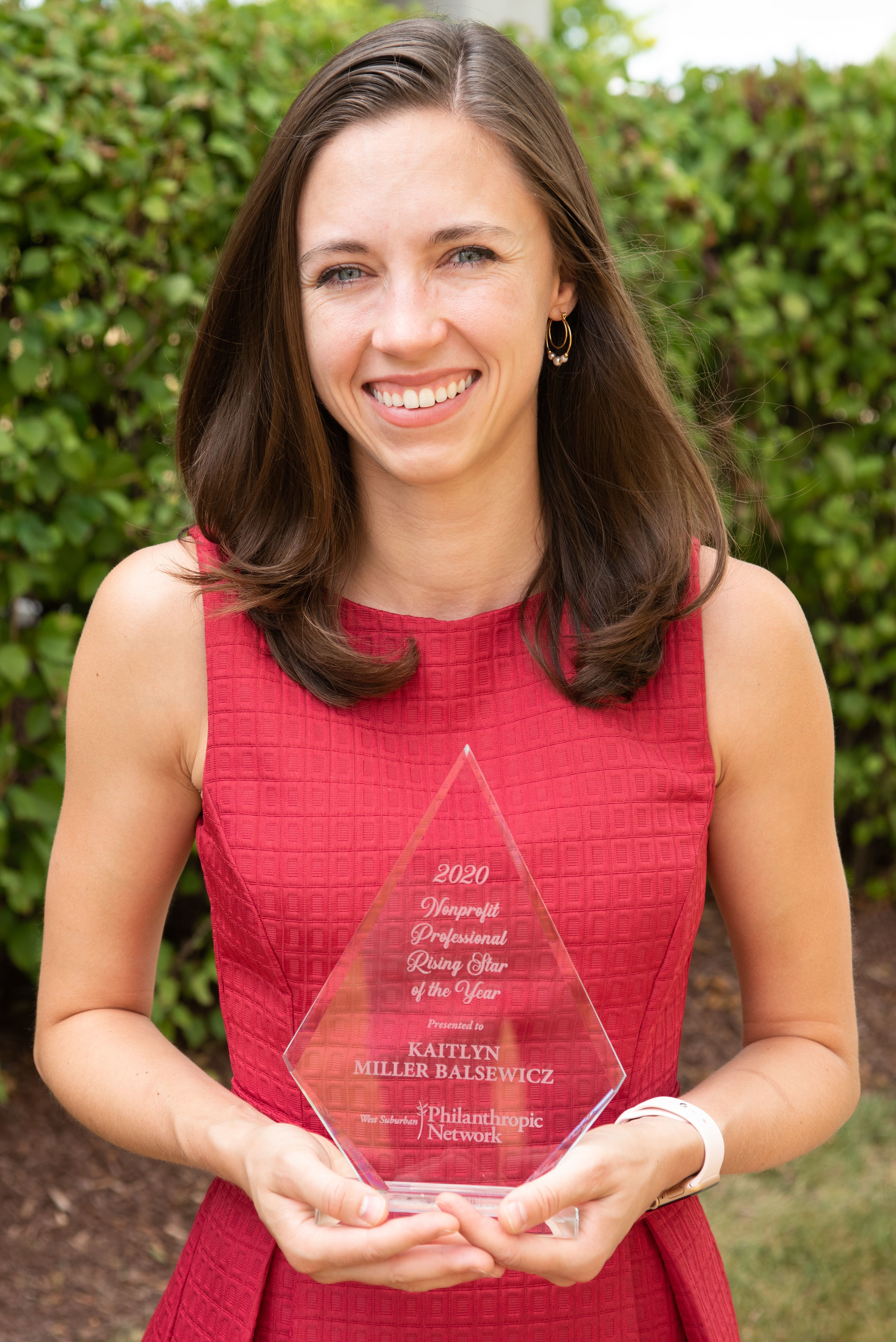 Kait Balsewicz of DuPage Foundation Named Rising Star by West Suburban Philanthropic Network