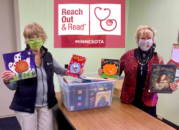 Reach Out and Read Minnesota Partners with Bemidji Community Food Shelf to Distribute Children's Books to Families