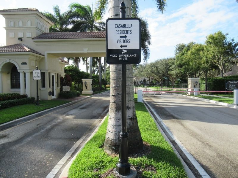 Decorative Street Signs Delray Beach - Wayfinding Signs - Sign Partners