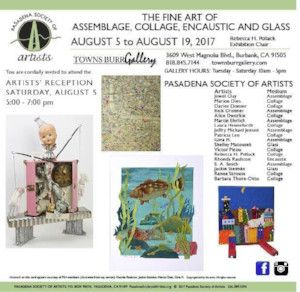 The Fine Art of Assemblage, Collage, Encaustic and Glass Exhibition
