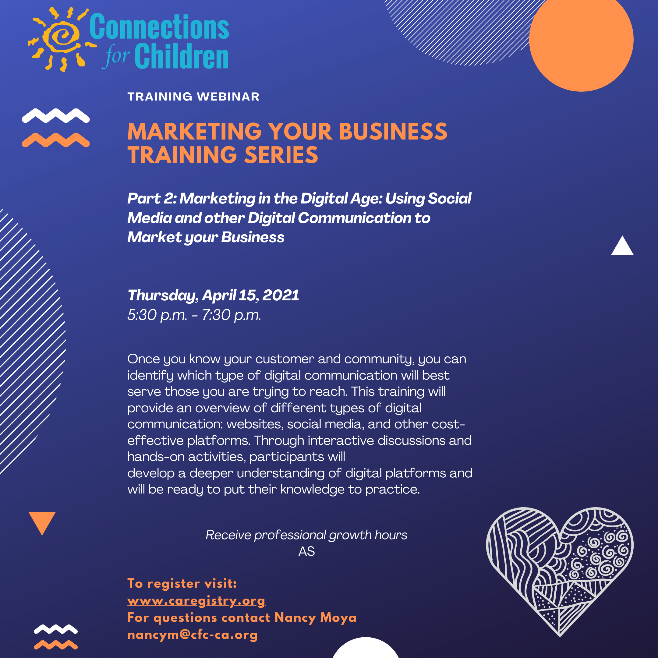 Marketing Your Business  Series Part 2:Marketing in the Digital Age: Using social media and other digital communications to market your business