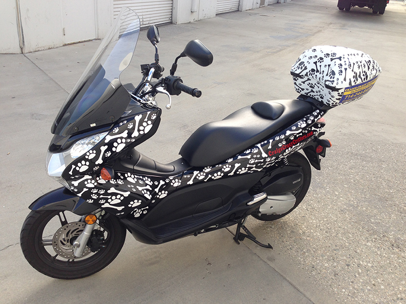 Motorcycle Wrap