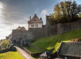 Stirling Castle in the sunshine