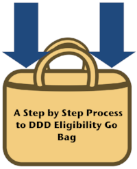 A Step by Step Process to DDD Eligibility Go Bag
