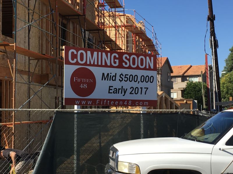 Housing Project Signs