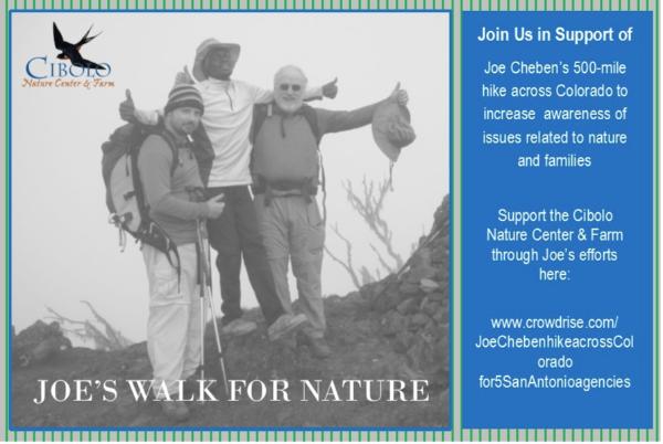 Joe's Walk for Nature