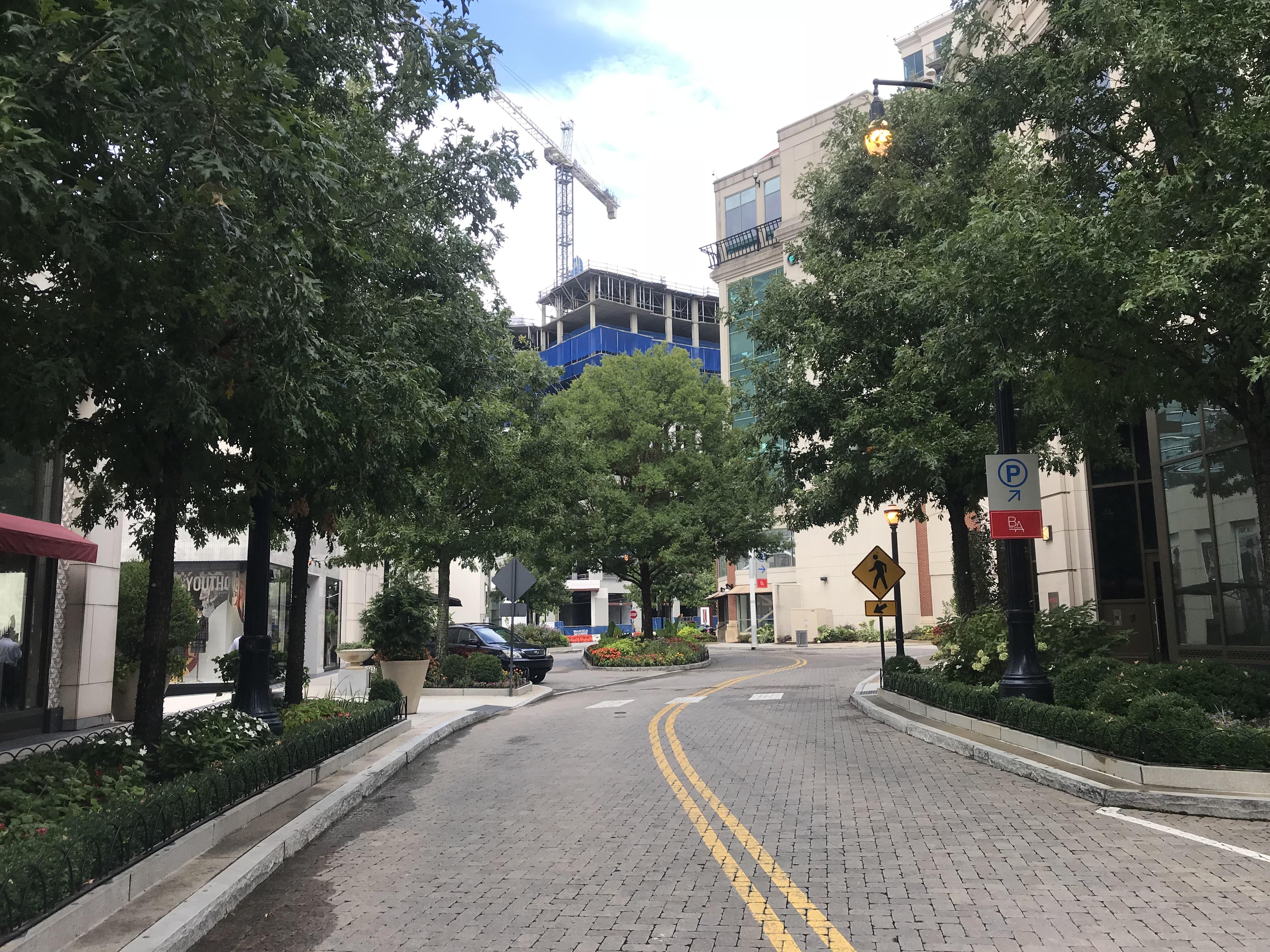 Shops Buckhead Atlanta and Jamestown Properties