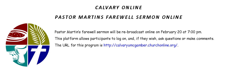 Calvary Online