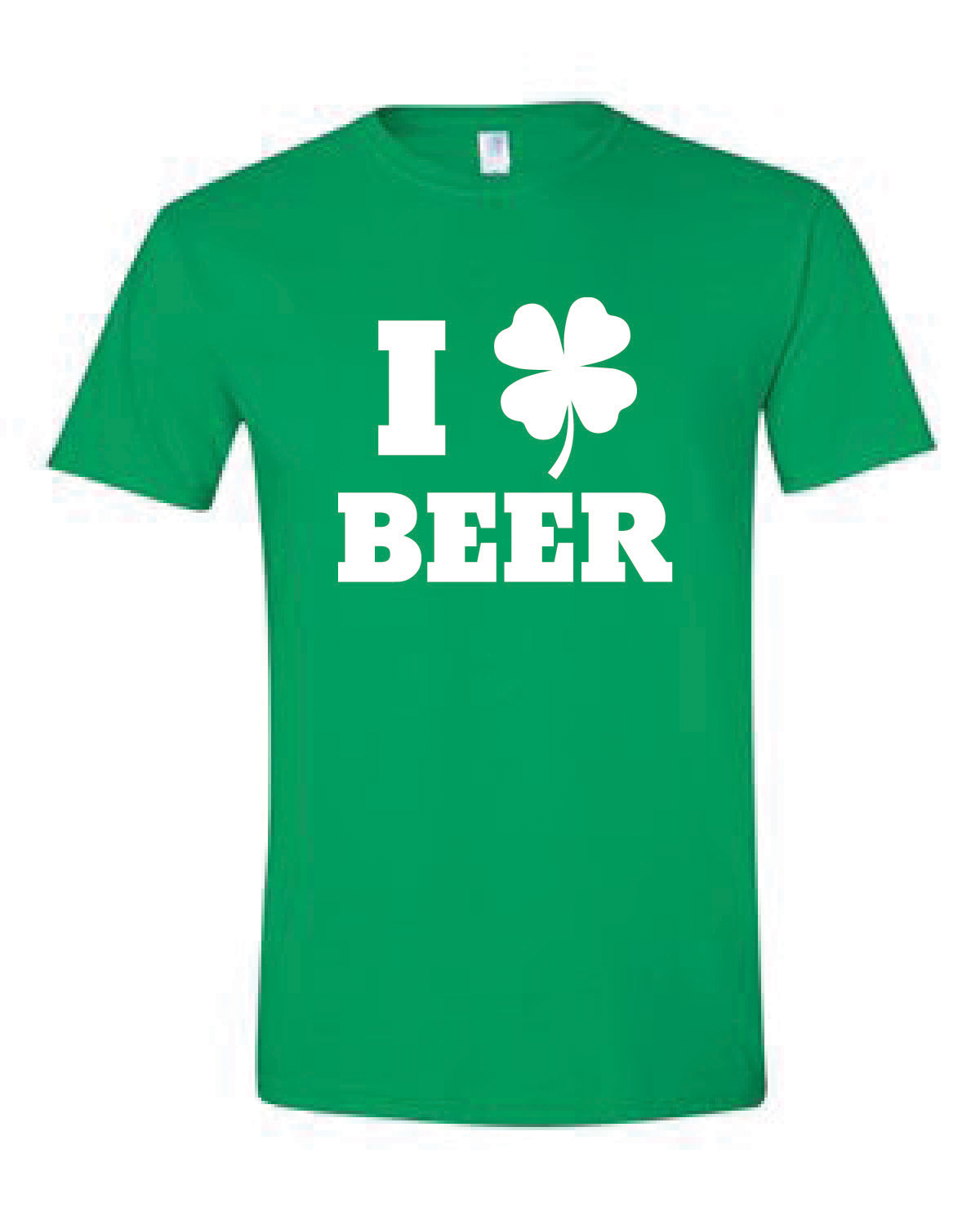 Short Sleeve Softstyle Tee (I LOVE BEER)