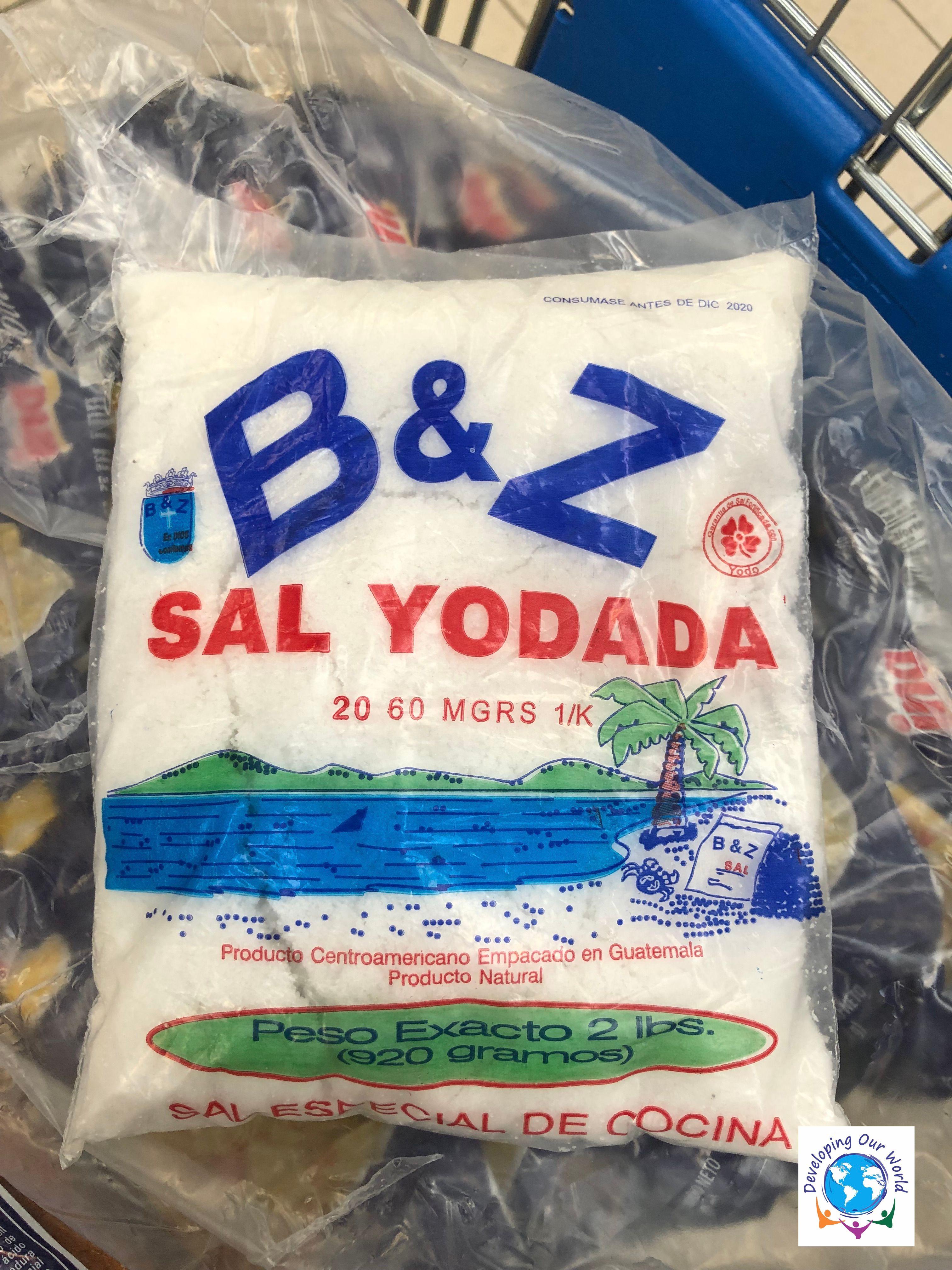 2 lbs of salt