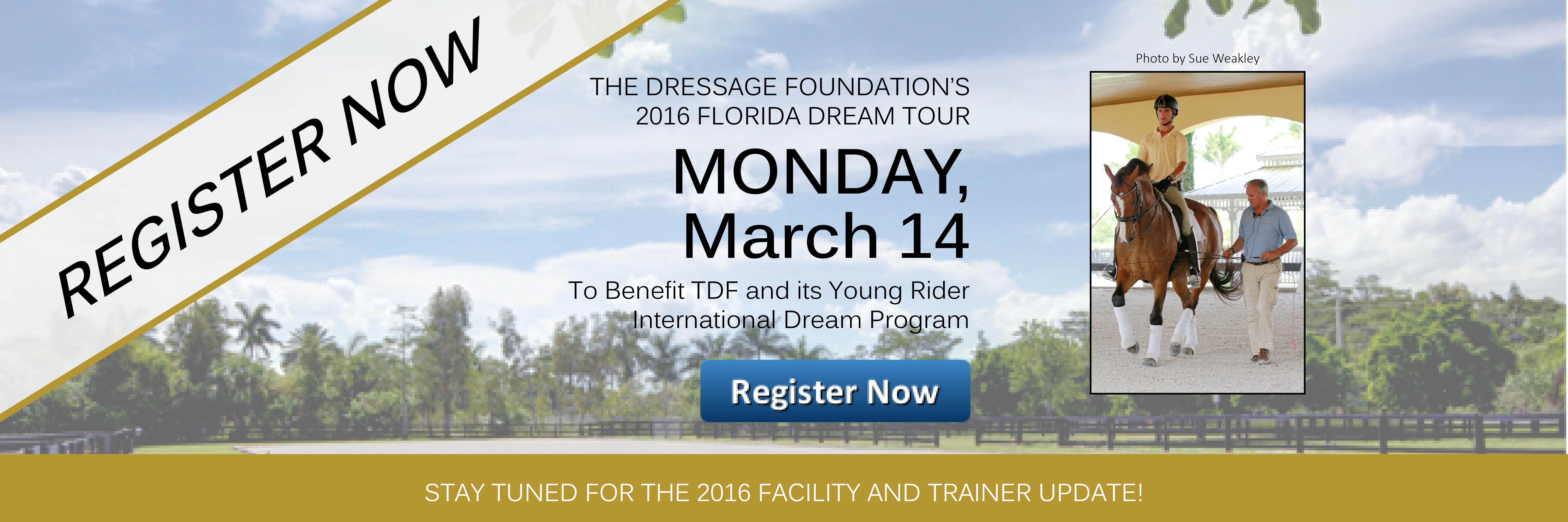 2016 Register Now FL Tour