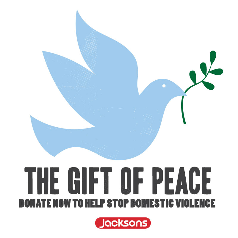"15th Annual ""Gift of Peace"" Campaign by Jacksons Food Stores Calls on the Community to Help End Domestic Violence"