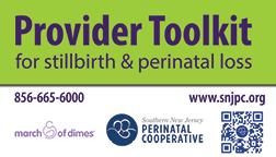 Provider Toolkit for Stillbirth & Perinatal Loss