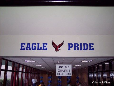 School Spirit Wall Vinyl