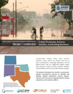 Critical Thresholds, Extreme Weather, and Building Resilience in South Central USA