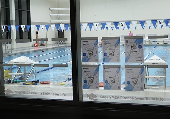 Sage Y pool window graphics