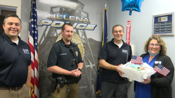 Volunteers bring thank-you notes to Helena first responders to mark 9/11 anniversary