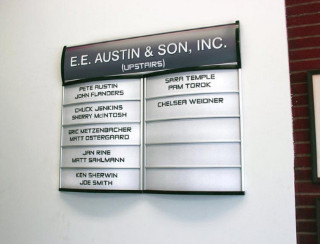 Office Building Directory Signs for Central Oregon