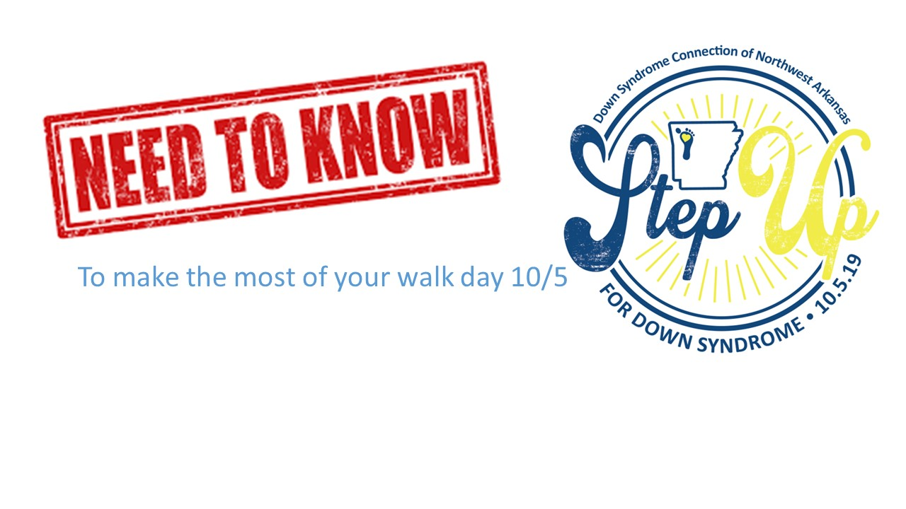 What you need to know for the walk