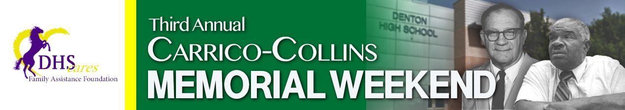 Carrico/Collins Memorial Weekend logo