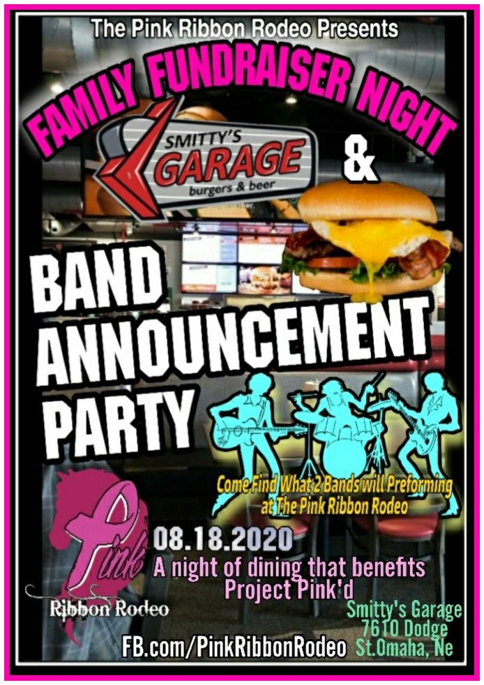 Pink Ribbon Rodeo Family Fundraising Night & Band Announcement Party