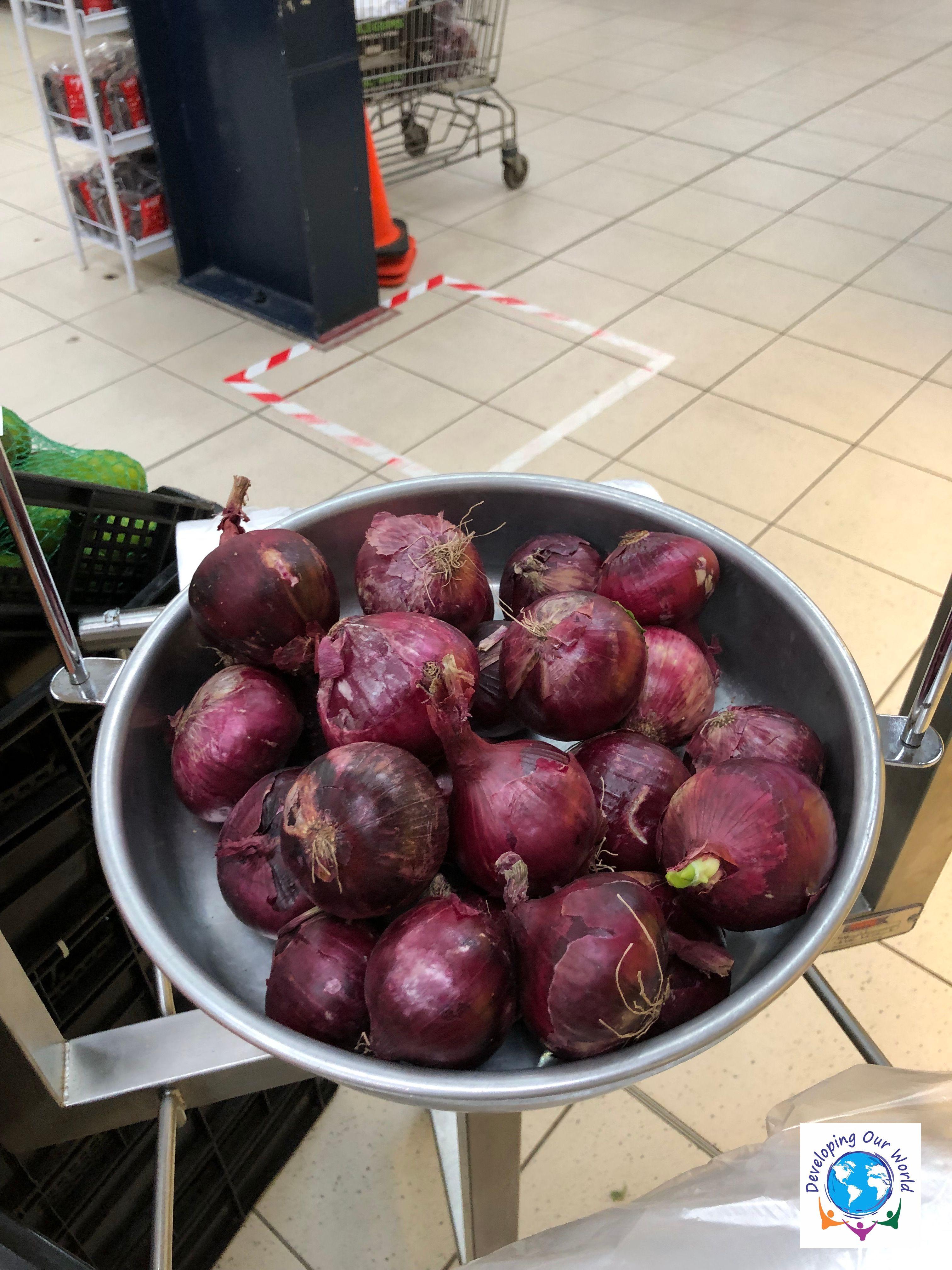 5 lbs of onios