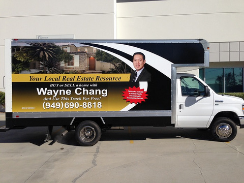 Box Truck Wraps Orange County