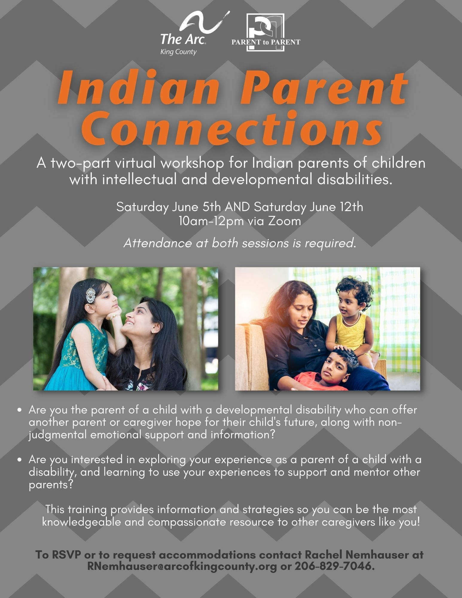 Indian Parent and Caregiver Connections