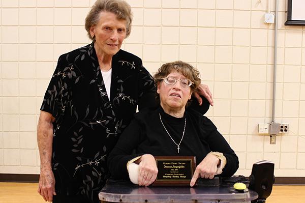 Deanna Lingenfelter earns Golden Heart Award